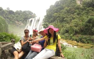 """【贵州图片】逃课去旅行。2010.9 贵州""""嘻游记""""。黄果树瀑布,西江苗寨。"""
