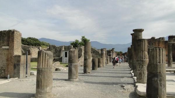 庞贝 古罗马繁荣的见证