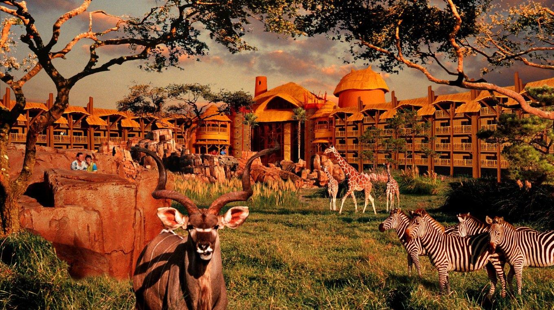 迪士尼动物王国度假旅馆