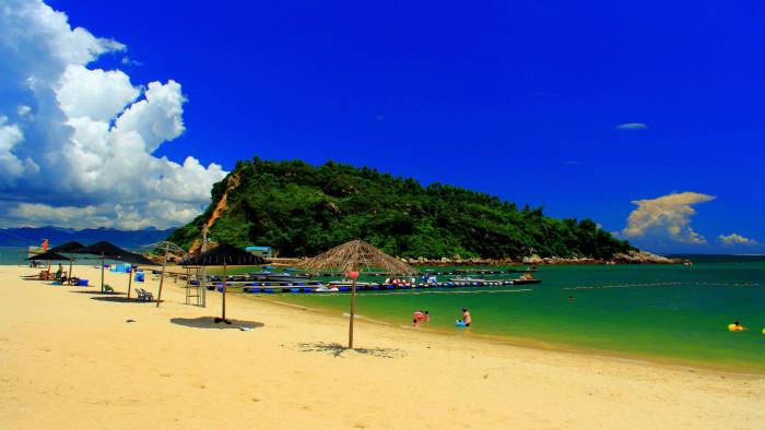 惠州海边玩 带孩子,求详细攻略    (3)三角洲岛(大亚湾三角洲岛俱乐部