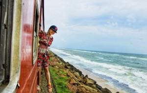【斯里兰卡图片】在斯兰,微笑能解决一切 (圆梦挂火车)