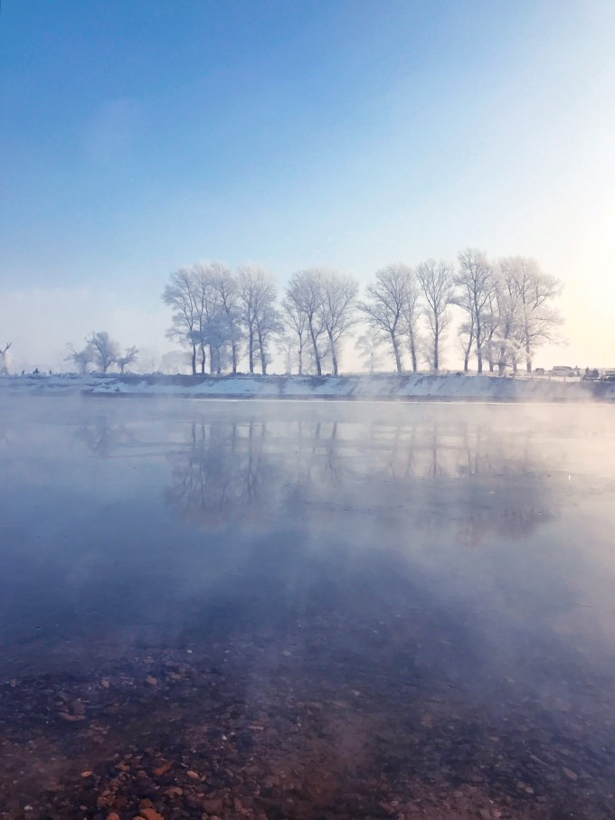 弥漫雾凇 暗黑魔界 冰雪长白