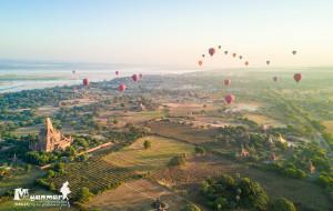 【仰光图片】做人,总要信—航拍缅甸,沉醉于每个日出日落的时分