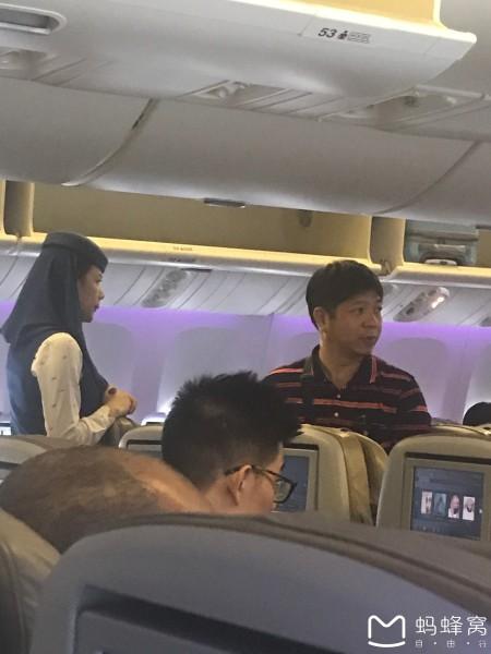 埃及 游记   飞机上裹着头巾的空姐,有种禁欲系美感