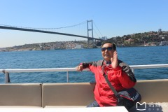 土耳其埃及十八天探险之旅...船游博斯布鲁斯海峡记