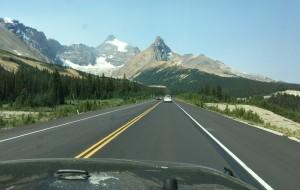 【加拿大落基山国家公园群图片】加拿大落基山公园自驾游(十八):走向冰原大道(Icefield Parkway)
