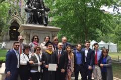 美国费城市常春藤名校宾夕法尼亚大学和德雷克赛尔大学一日游