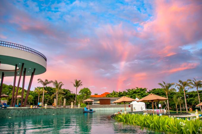 一支烟,一杯酒,一个日落,一座巴厘岛