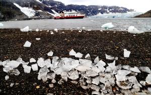 【斯瓦尔巴群岛图片】能把人美哭的斯瓦尔巴钻石沙滩