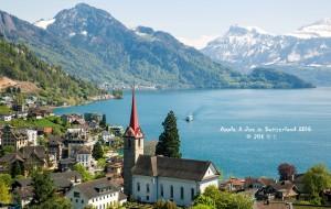 【瑞士图片】【蜂首】花间雪,湖畔春,晴潋雨蒙入梦深(瑞士9日自驾游)