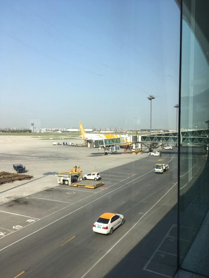 飞机:从天津滨海乘坐新加坡酷航到樟宜机场,廉价航空公司