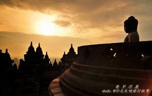 【爪哇岛图片】婆罗浮屠,佛光中曾经迷失千年的传奇