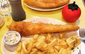 英国美食-Golden Union Fish Bar