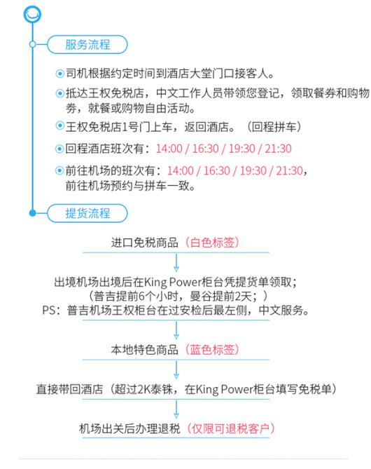 泰国普吉岛 kingpower王权免税店(免费送机+全岛接送)
