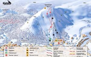 俄罗斯娱乐-基洛夫斯克希比内滑雪场