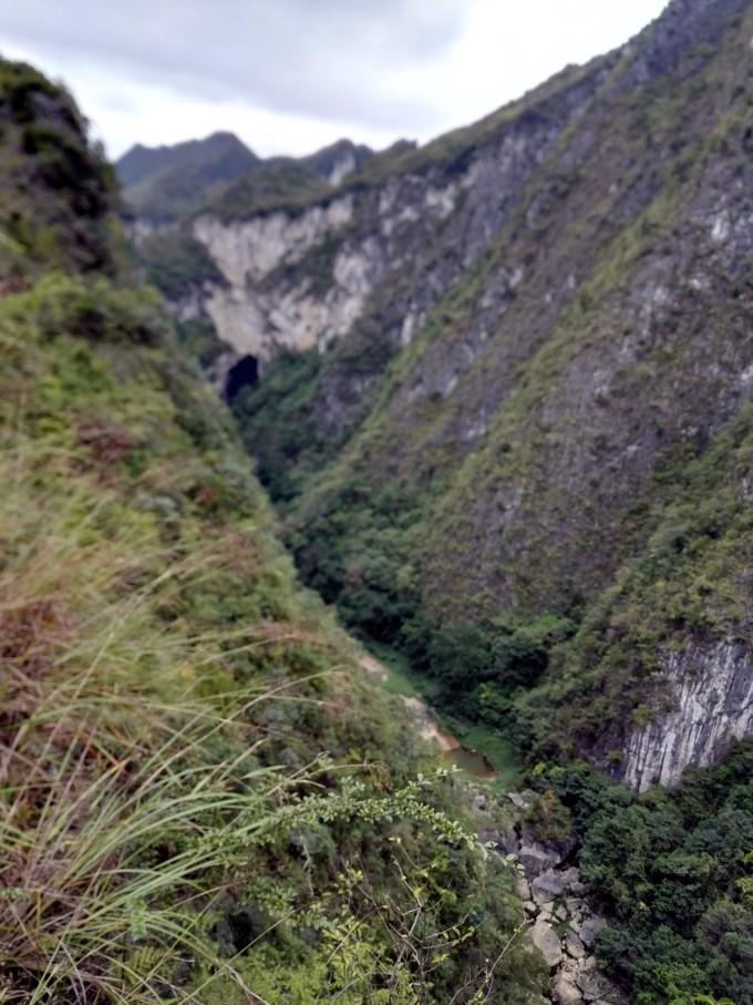 貴州惠水奇觀--神秘的諸葛峽谷,神奇的連排天生橋.