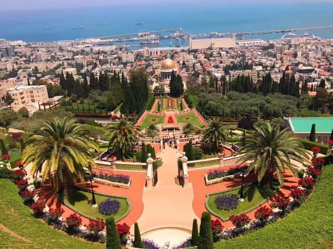 巴哈伊空中花园/大同教圣殿及花园 图片