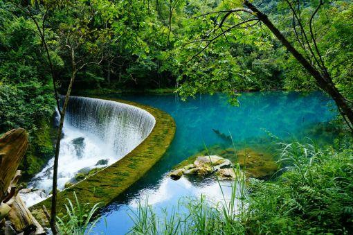 世界自然遗产-小七孔-5a级风景区图片