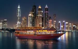 迪拜娱乐-迪拜湾木桅船巡游