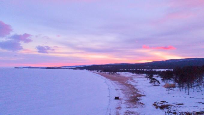 貝加爾湖畔的容顏圖片