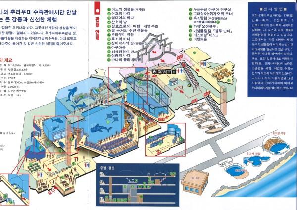 儿童乐园手绘地图