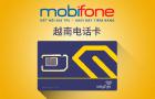 越南mobifone手机卡(无限流量4G/3G网络高速上网流量卡)