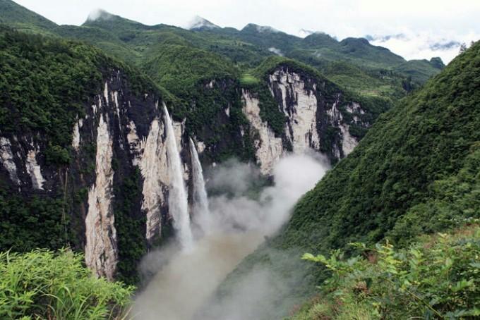 湖北鹤峰屏山大峡谷,风景如画,去过的都说美