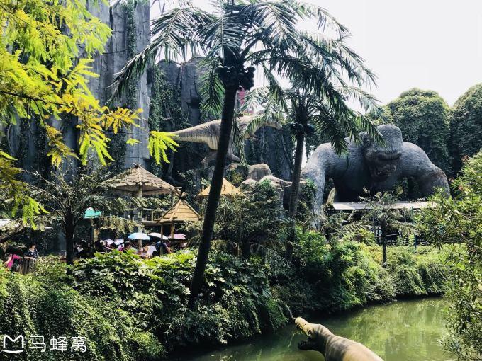 乐园打卡第一站:中华恐龙乐园