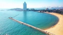 青岛景点-第二海水浴场