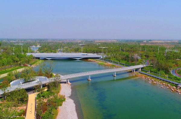 """双鹤湖中央公园""""花与田""""的纸短情长--郑州游记--蚂蜂窝"""