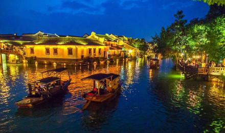 厦门飞机往返上海 上海迪士尼乐园 西塘 乌镇西栅4天3
