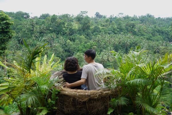 巴厘岛 游记   下午baliswing .我是一个真·狂热秋千爱好者.