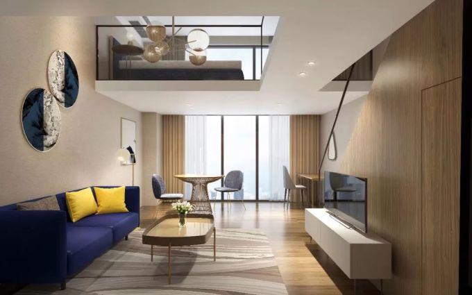 2层loft结构公寓式酒店