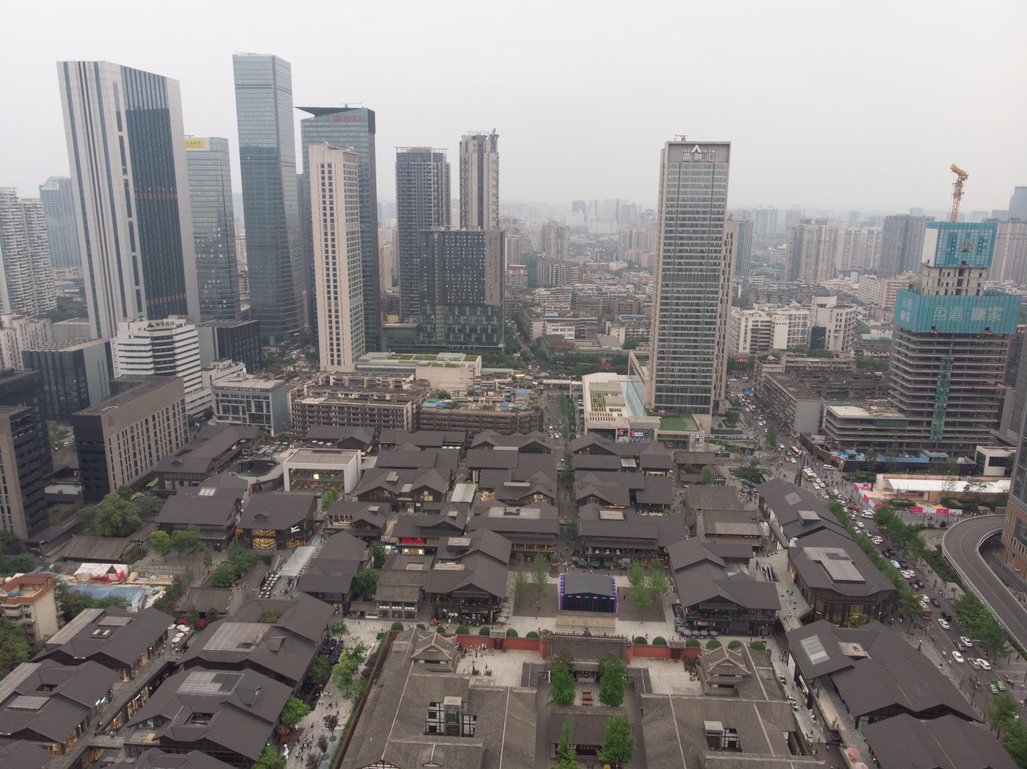 China ChengDu taikooli