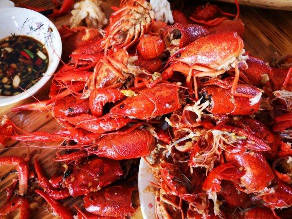 五一,龙虾,洞庭,万丰,长沙,细毛小龙虾店 湖南游记