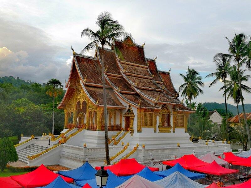 琅勃拉邦之老挝皇宫