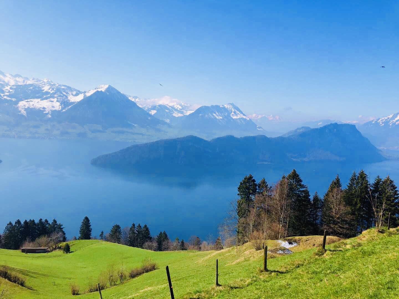 瑞士自由行 瑞吉山 施皮茨 因特拉肯 格林德瓦(Day 10)