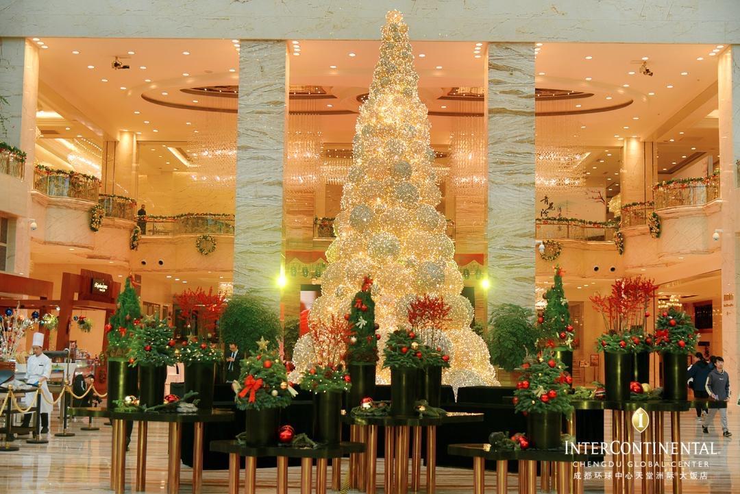 遇见真正的圣诞老人 成都环球中心天堂洲际大饭店开启圣诞嘉年华