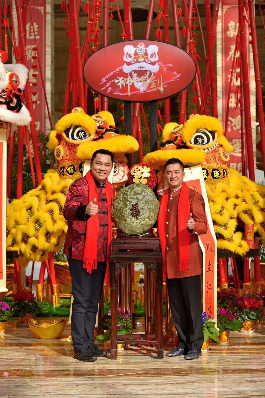 狮王争霸·新春送福 成都环球中心天堂洲际大饭