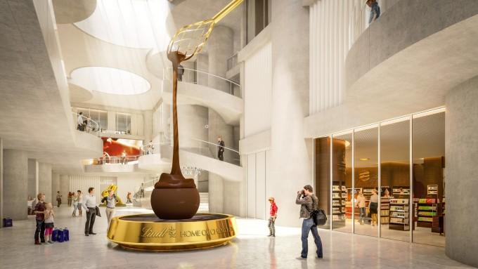 瑞士人建了一座世界上最大的巧克力博物馆!巧克力15