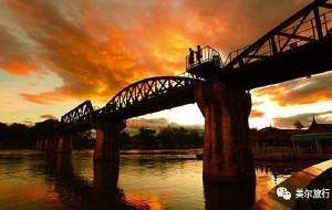 【北碧图片】隐藏的旧歌单/泄在历史的光影--不一样的泰国游之四:桂河桥旁华军碑