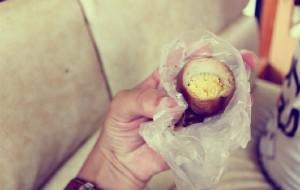 南投美食-金盆阿嬷的香菇茶叶蛋