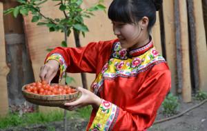 【汶川图片】五一汶川游-萝卜寨、羌人谷、桃坪羌寨