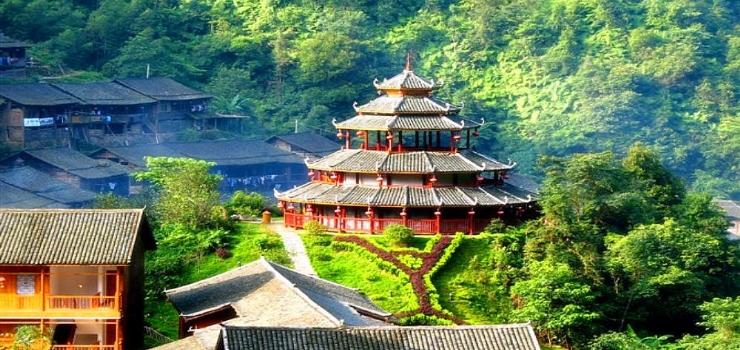 桂林蝴蝶谷瑶寨景区
