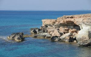 【塞浦路斯图片】塞浦路斯阿依纳帕海崖