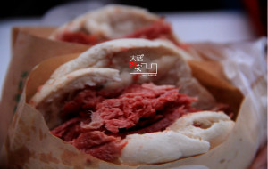 西北美食-刘峰腊牛肉夹馍(振兴路店)