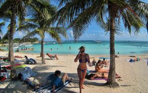 墨西哥娛樂-Akumal Beach