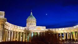 圣彼得堡景点-喀山大教堂(Our Lady of Kazan Cathedral)