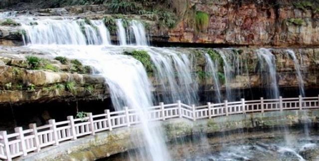 黄连河风景区