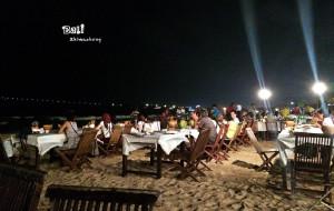 巴厘岛美食-金巴兰海滩烧烤